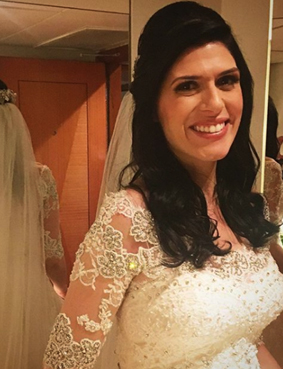 dia da noiva JJ Cabeleireiros - penteado e maquiagem