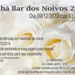 Chá Bar dos Noivos – 2012 no JJ Cabeleireiros