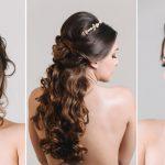 Opções de penteados e maquiagens para noivas e madrinhas
